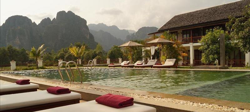 Vang Vieng Reiseinfo Riverside Boutique