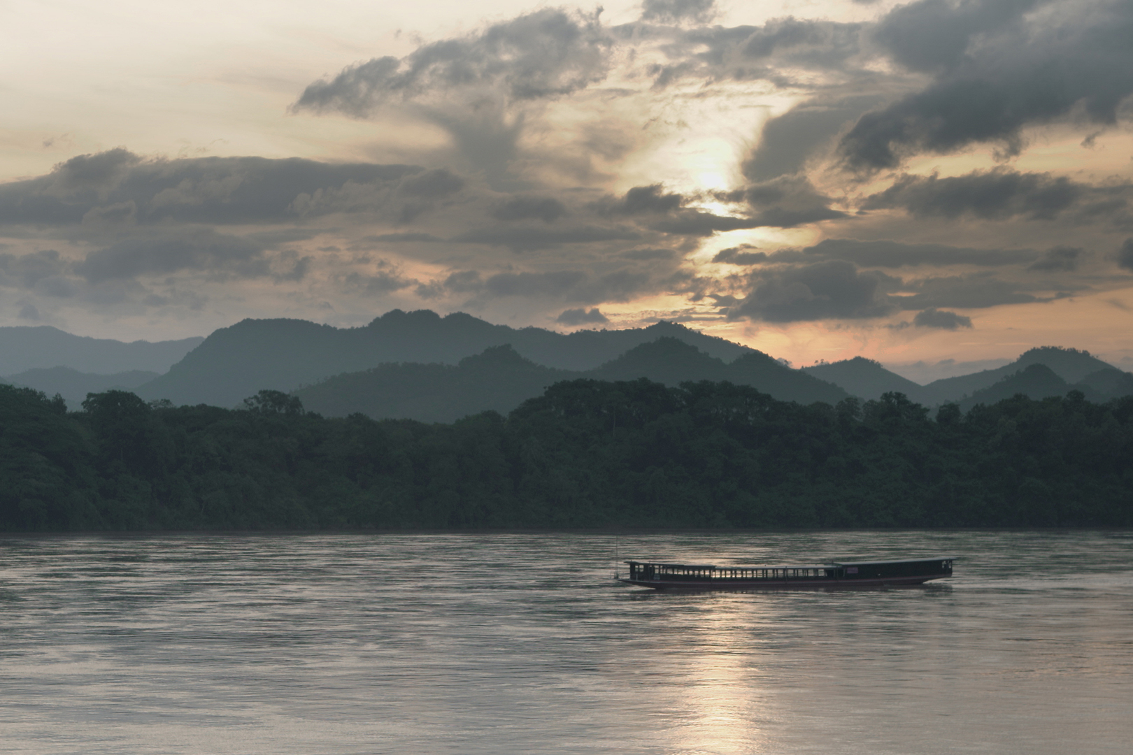 Travel the mighty Mekong in style